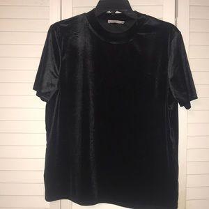 Zara mock neck top